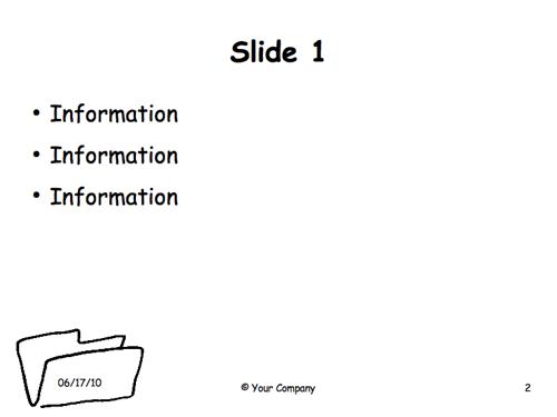 Impress Presentation Template – Minimalist — Guide 2 Office
