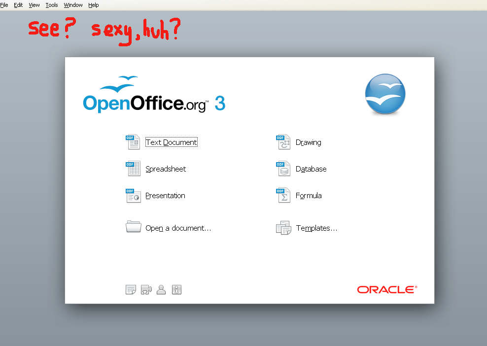 openoffice impress templates free download - openoffice 3 2 sizzling openoffice is sexy guide 2
