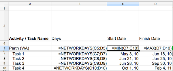 Why this is probably the best spreadsheet Gantt Chart Template you ...