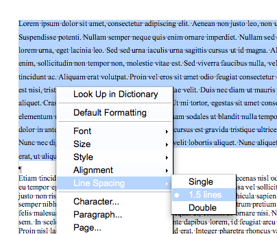 word online how to set default spacing settings