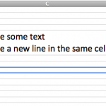 new-line-text-excel